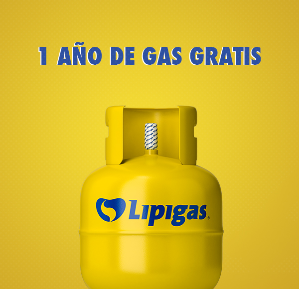 ¡Un año de gas gratis puede ser tuyo!