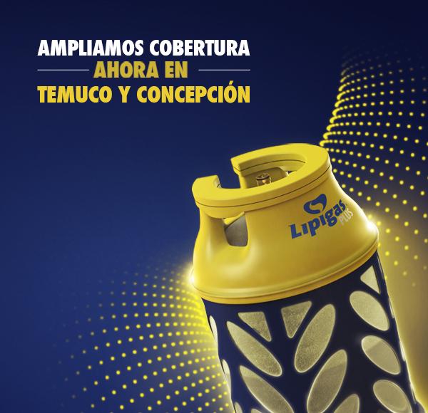 Bases Legales - Lipigas Plus llegó a Temuco y Concepción