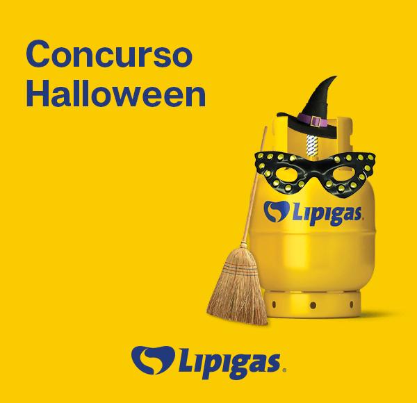 Bases Legales - Concurso Disfraza al Cilindro Lipigas de Halloween