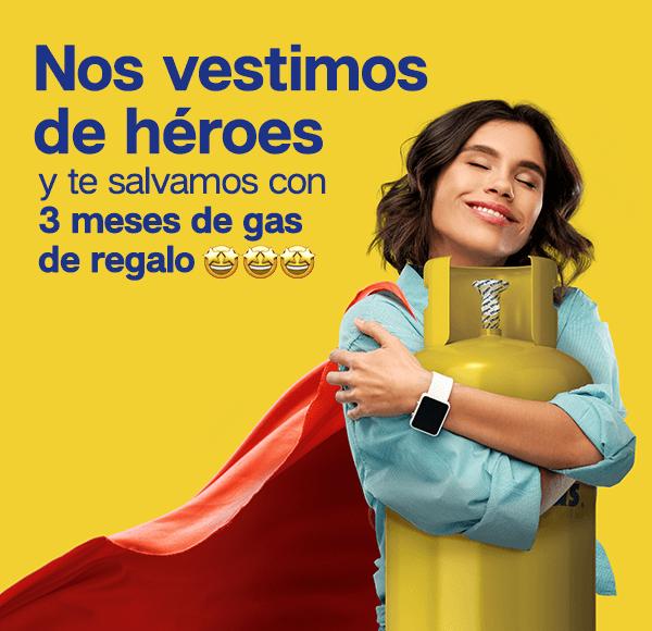 Bases Legales - Los Héroes 3 meses de gas