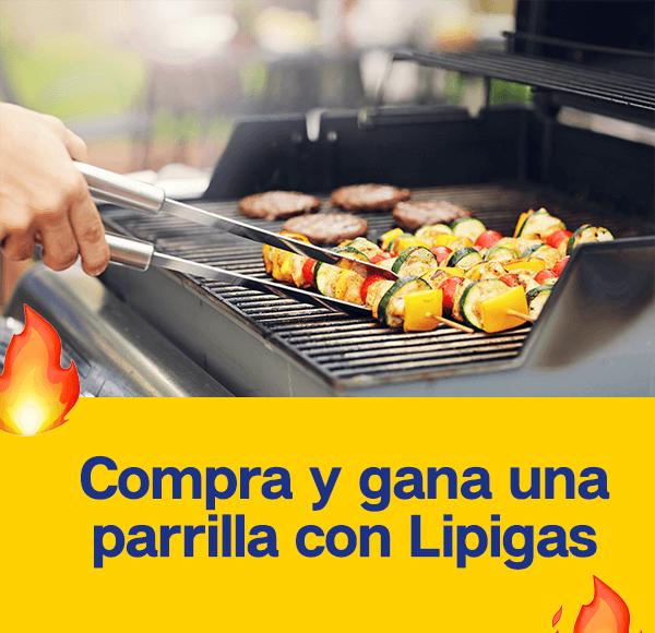 Bases Legales - Compra y Gana una Parrilla con Lipigas