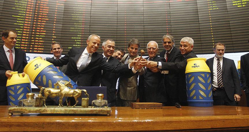 EMPRESAS LIPIGAS BEGINS TRADING ON THE STOCK EXCHANGE