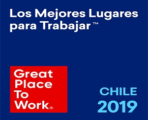 6th place Great Place to Work 2019