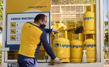 Lipigas generated an EBITDA of CLP 96,274 million