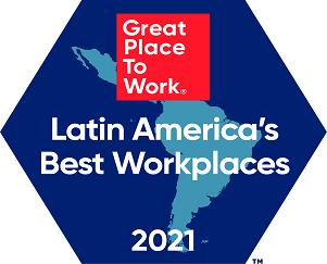 #10 en Mejores Lugares para Trabajar LATAM